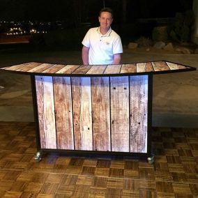 Wood Panel Bar