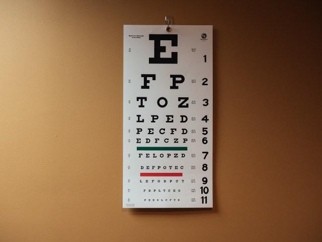 Legacy Eyecare Eye Chart