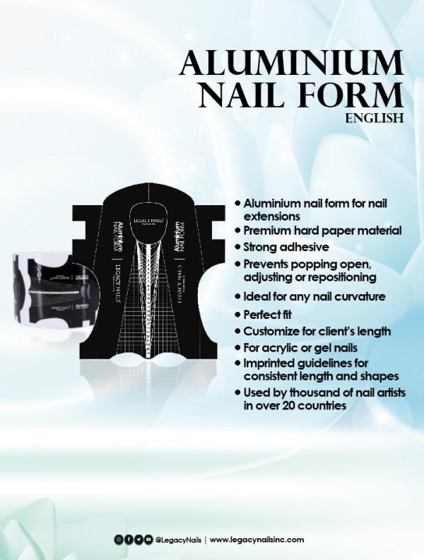 aluminium nail form eng