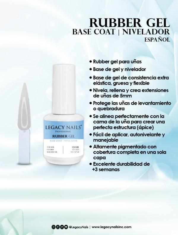 rubber gel base coat esp