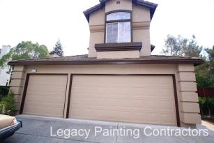 After: Exterior house painting