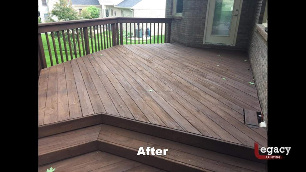 Deck Staining Indiana 5