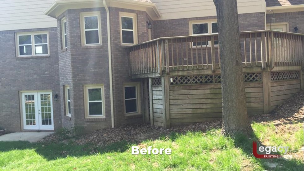 Deck Staining Indiana