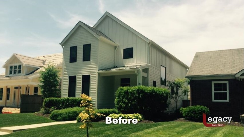 Indianapolis Exterior Painting 2