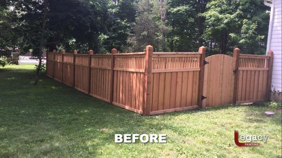 New Decorative Fence Staining 2