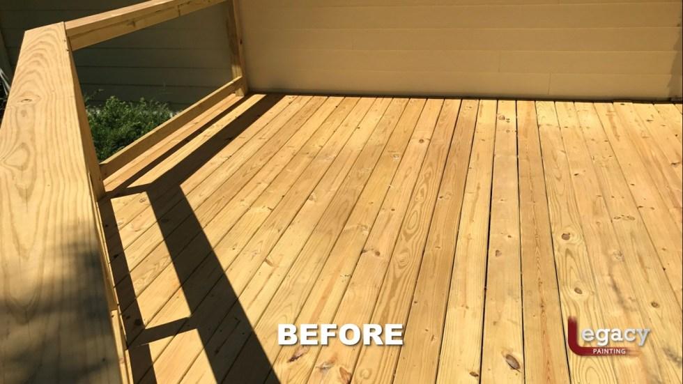 Carmel New Deck Staining - Teak 2