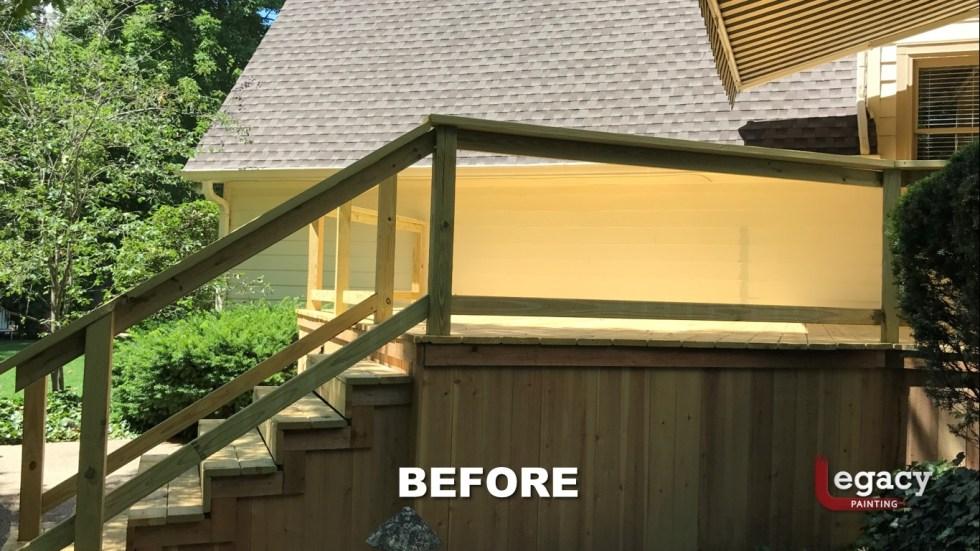 Carmel New Deck Staining - Teak 3