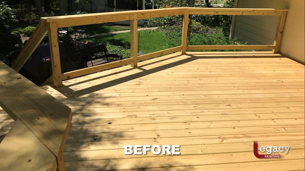 Carmel New Deck Staining - Teak 5