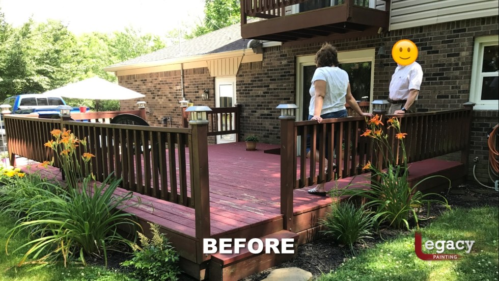 Deck Coating Replaced With Solid Stain 3