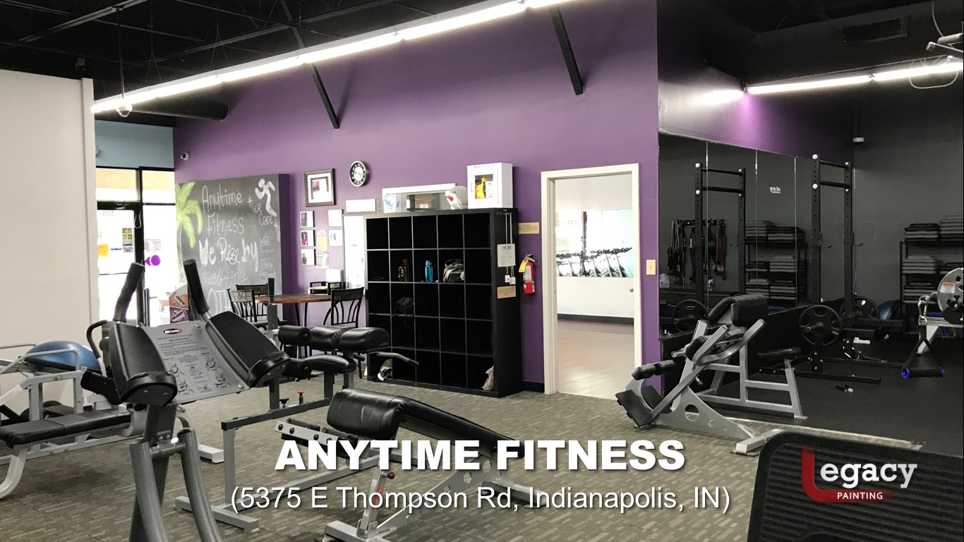Anytime Fitness Indianapolis Legacy Painting