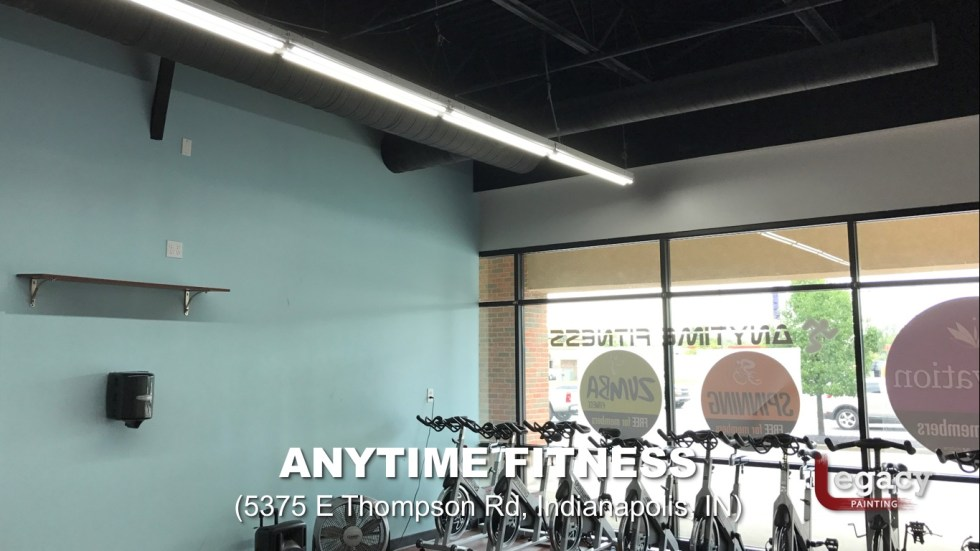 Commercial Painting Services - Anytime Fitness Indianapolis 7