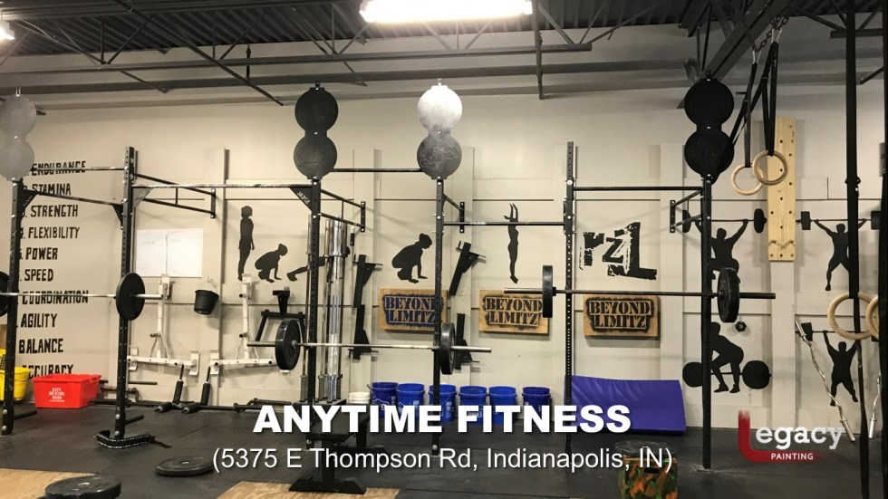 Commercial Painting Services - Anytime Fitness Indianapolis 9