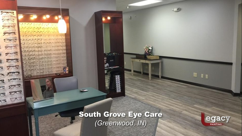 Eye Doctor - Commercial Interior Painting - Greenwood Indiana 2