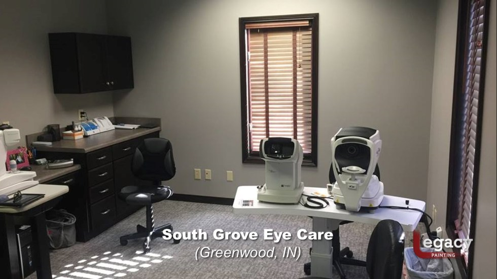 Eye Doctor - Commercial Interior Painting - Greenwood Indiana 3