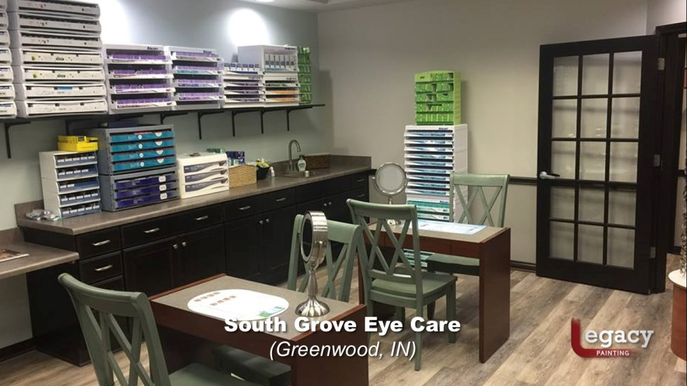Eye Doctor - Commercial Interior Painting - Greenwood Indiana 5