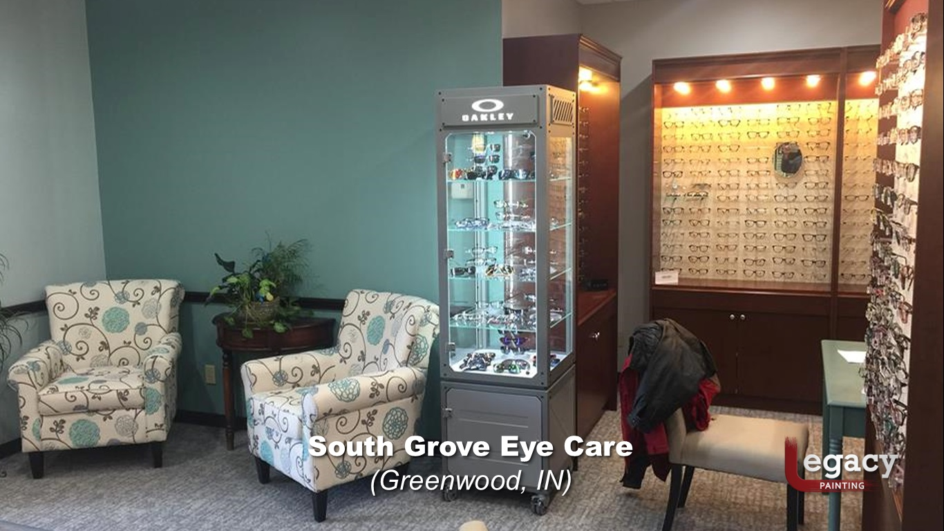 eye doctor - commercial interior painting - greenwood indiana