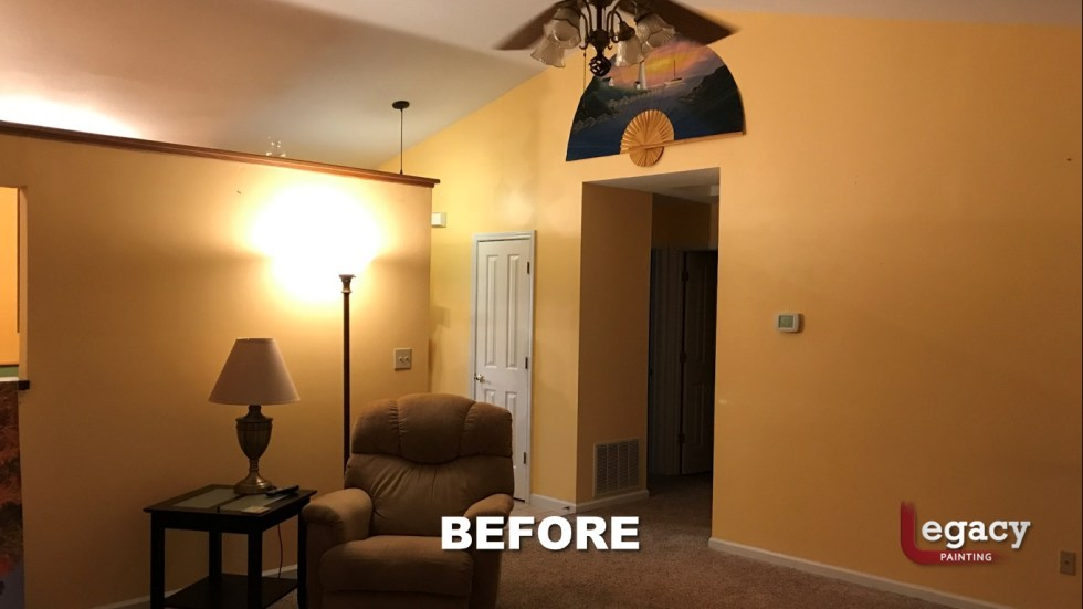 Home Interior Painting - Before 6 - Franklin Indiana