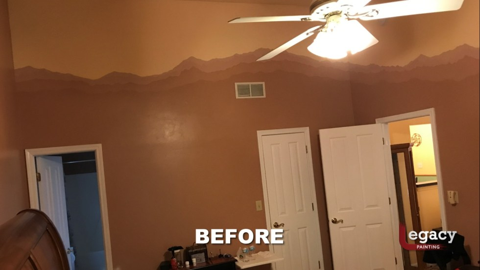 Home Interior Painting - Before 8 - Franklin Indiana