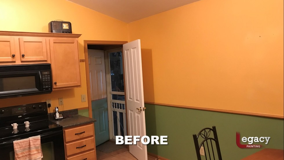 Home Interior Painting - Before - Franklin Indiana