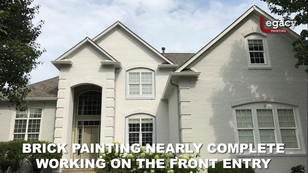 Professional Brick House Painters 12 - Carmel Indiana