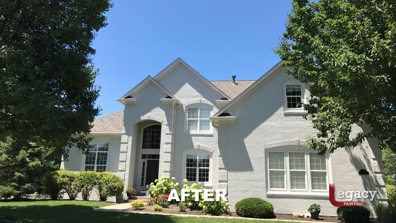 Professional Brick House Painters 17 - Carmel Indiana