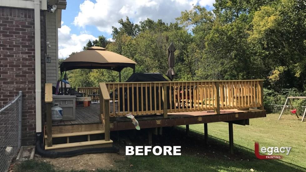 Plainfield Deck Staining - Butternut - Slide1