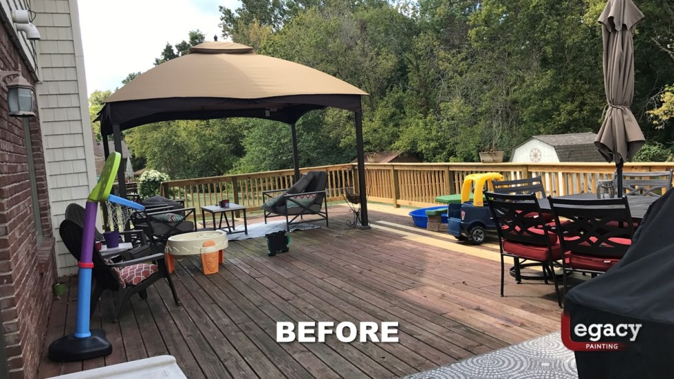 Plainfield Deck Staining - Butternut - Slide5