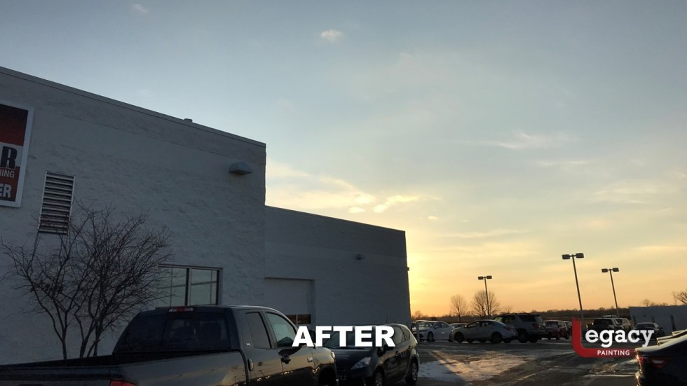 Commercial Painting - Muncie Toyota 12
