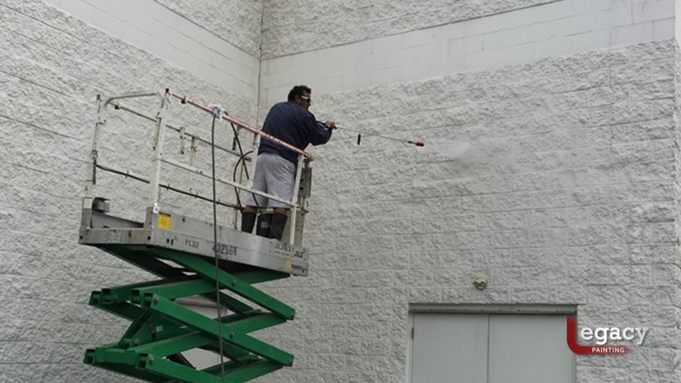 Commercial Painting - Muncie Toyota 3