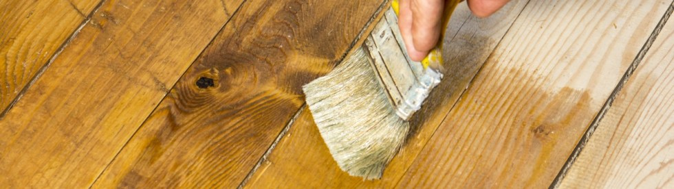 deck staining pros cons