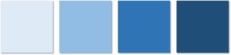 interior painting - blues