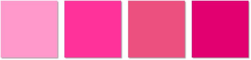 interior painting - pinks