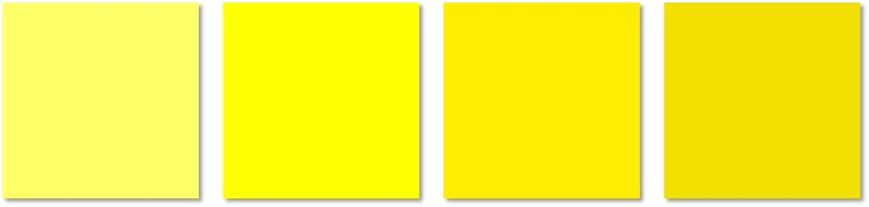 interior painting - yellows