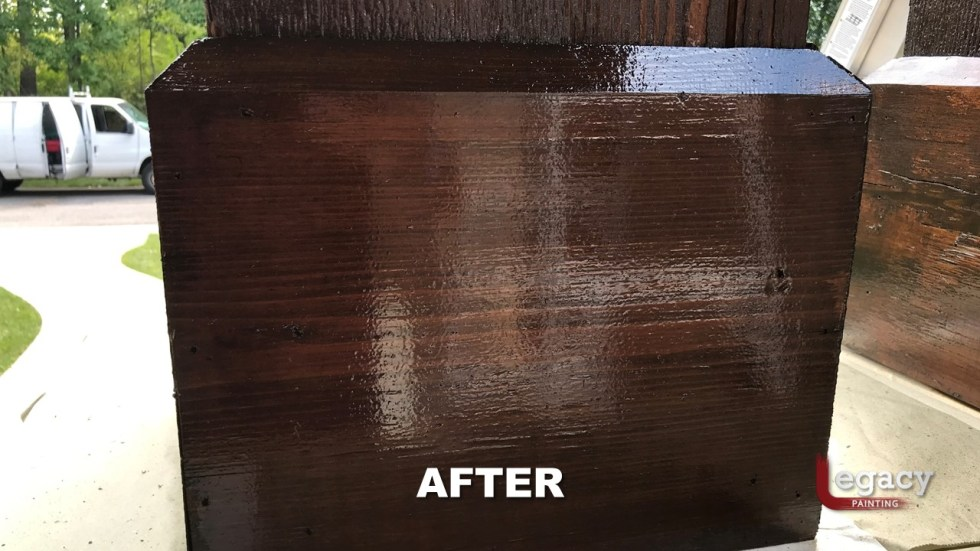 Exterior Wood Staining Indianapolis