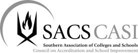 Schools accredited by the Southern Association of Colleges
