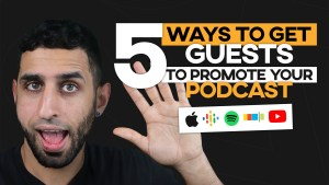 how to get people to promote your podcast