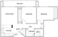 Floor Plan | Legacy Village South Jordan