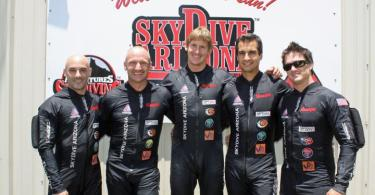 2014 U.S. 4-Way FS Team: Arizona Airspeed (Chris Farina, Mark Kirkby, Thomas Hughes, Thiago Gomes, Justin Price)