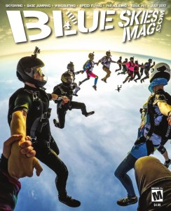 Blue Skies Mag i91: July 2017   On the cover: Live BIGZ Sequentials at Skydive Spaceland in Houston, Texas. Photo by Guru Khalsa.   https://blueskiesmag.com/project/i91-july-2017