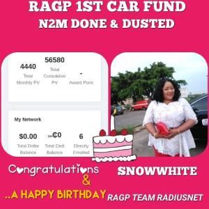 RAGP First Car Fund 2Million