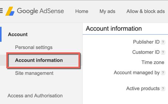 Google Adsense ID Verification in Nigeria