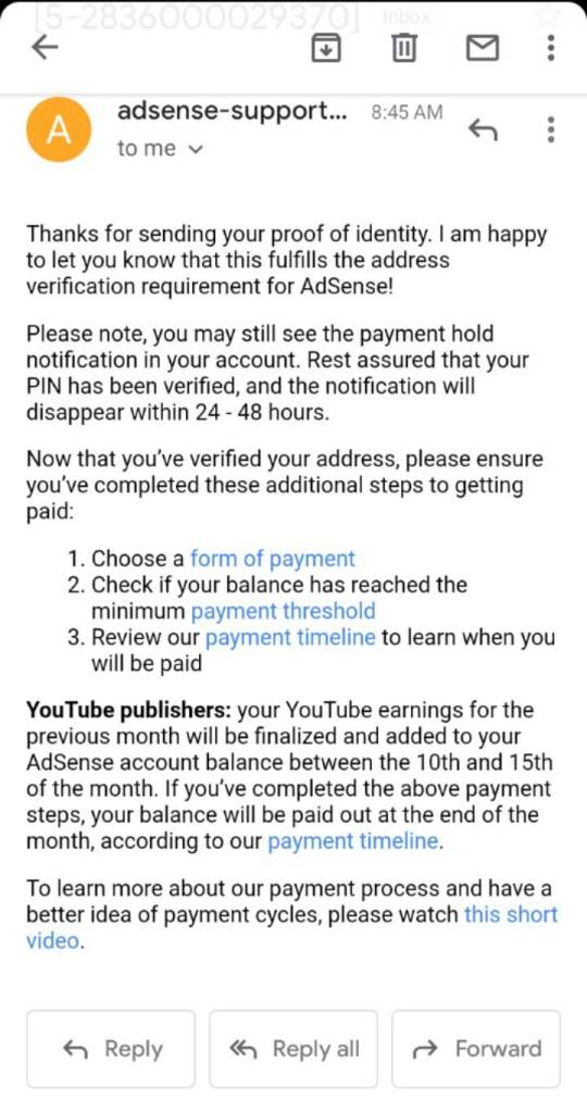 How To Verify Google Adsense Address Without Pin