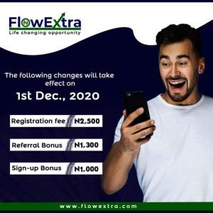 Flowextra Earntertainmentng income