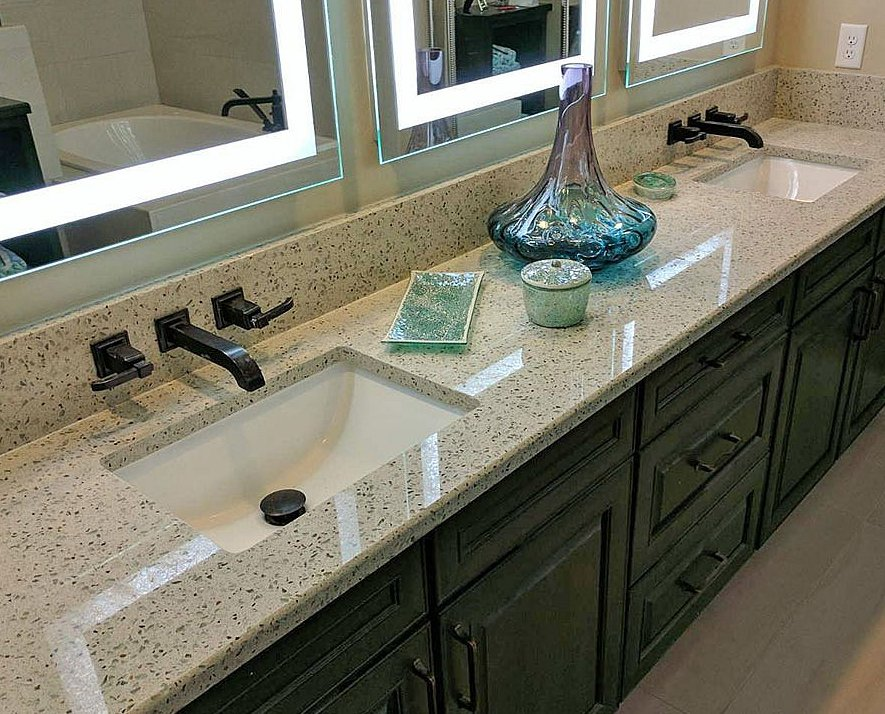 Green & Recycled Countertops - Legacy Countertops   Charlotte, NC