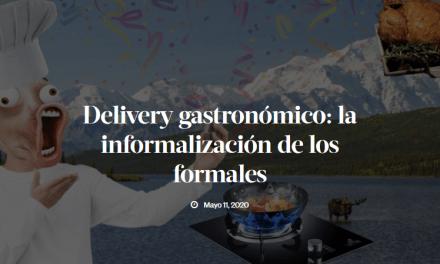 Delivery gastronómico: la informalización de los formales