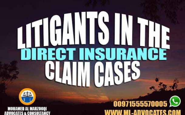 Litigants in the Direct Insurance Claim Cases According to the Emirati Civil Law