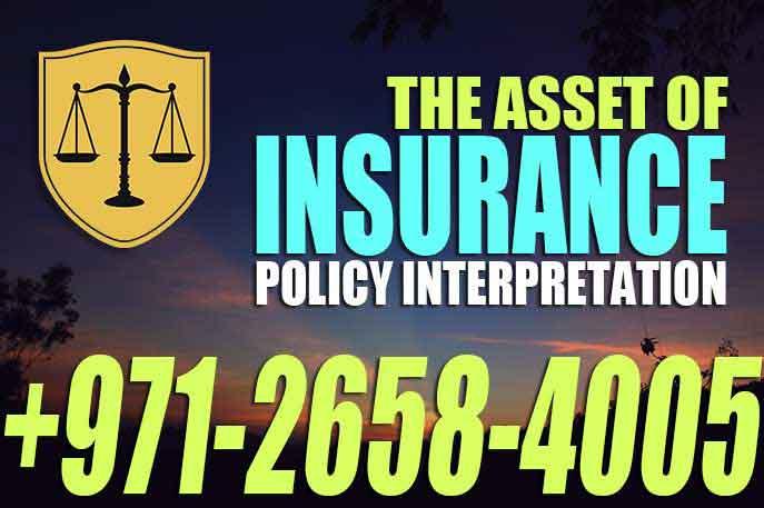 Insurance Policy Interpretation UAE Law Each insurance policy includes..