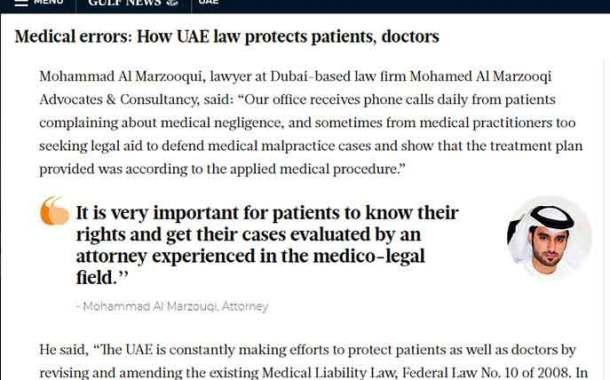 GulfNews Mohamed Al Marzooqi Advocates & Consultancy On GulfNews