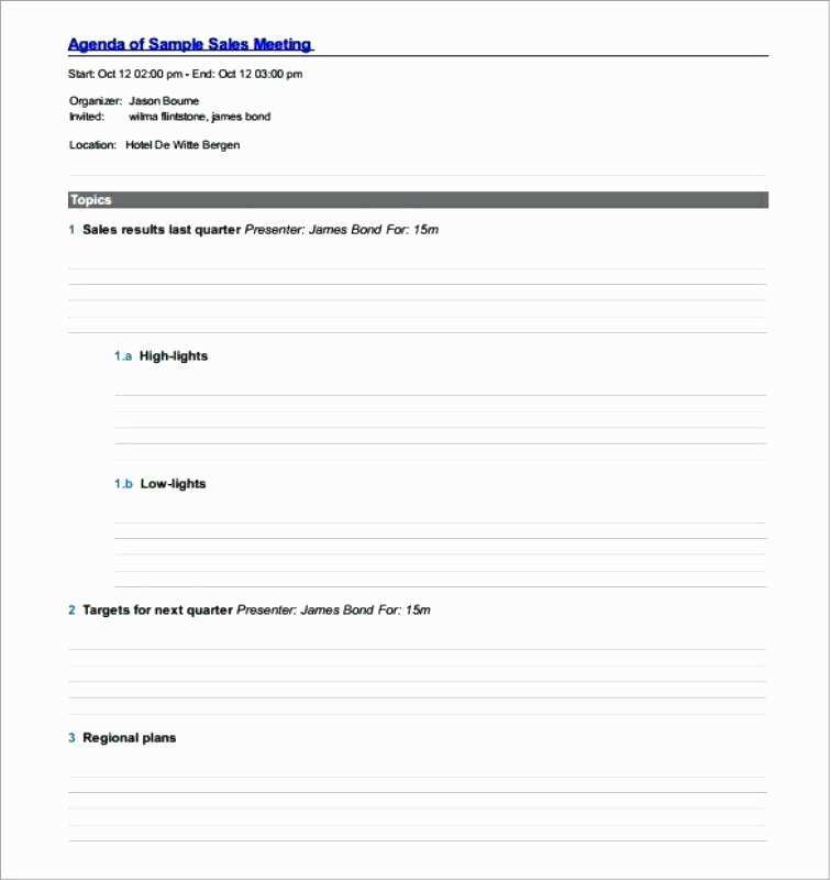Prepare your sales meeting agenda in meetingking. 18 Best Quarterly Sales Meeting Agenda Template In Word By Quarterly Sales Meeting Agenda Template Cards Design Templates