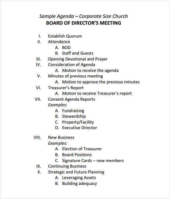 It helps you stay on track and accomplish important goals. 24 Online Board Meeting Agenda Template For Ms Word For Board Meeting Agenda Template Cards Design Templates